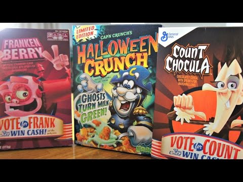 Halloween Cereal Taste Test