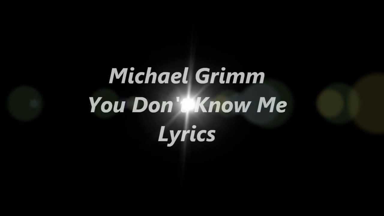 Michael grimm lyrics