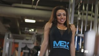 Соня Некс - спортсмен MEX Nutrition. Тренировка но