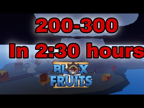 Roblox  How To Level Up Fast In Blox Fruit 200-300  [Update 11] Blox Fruits  Erengamer02