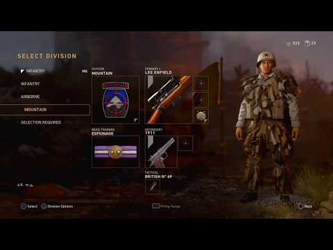 Call of Duty WWII - How to change your character's UNIFORM/CLOTHES!!