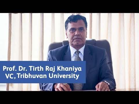 Prof. Dr. Tirth Raj Khaniya - Vice Chancellor of Tribhuvan University, Exclusive Interview