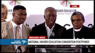 Higher Education National Convention closes due to safety concerns