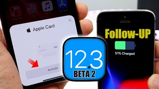 iOS 12.3 beta 2 Follow-Up   New Apple Card Activation UI / Bugs & More...