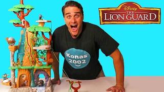 The Lion Guard Training Lair Playset ! || Toy Reviews || Konas2002