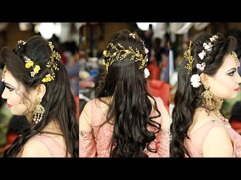 Easy Reception Hairstyle By Prabha Hairstyle And Treatment