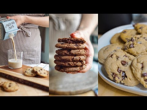 VEGAN CHOCOLATE CHIP COOKIES 🍪 Testing PINTEREST  Recipes