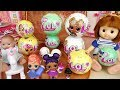 Baby doll Jewelry box and LoL surprise toys play
