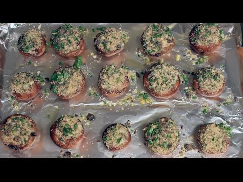 Appetizer Recipe: Healthy Stuffed Mushrooms