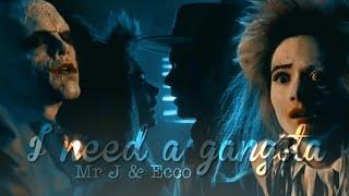 "Jeremiah Valeska & Ecco | I need a gangsta (The Joker and ""Harley Quinn"")"