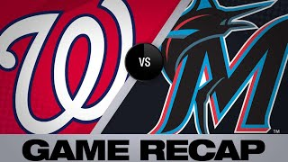 Adams, Corbin power Nats past Marlins | Nationals-Marlins Game Highlights 6/26/19