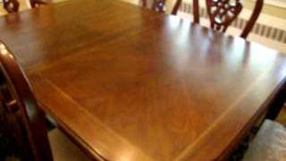 Antique dining room table for sale