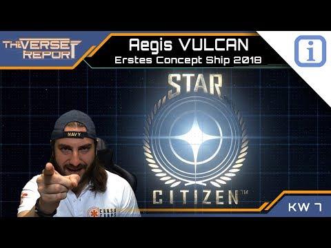 Star Citizen Aegis VULCAN - Early Bird Sale gestartet! | SCB Verse Report [Deutsch/German]