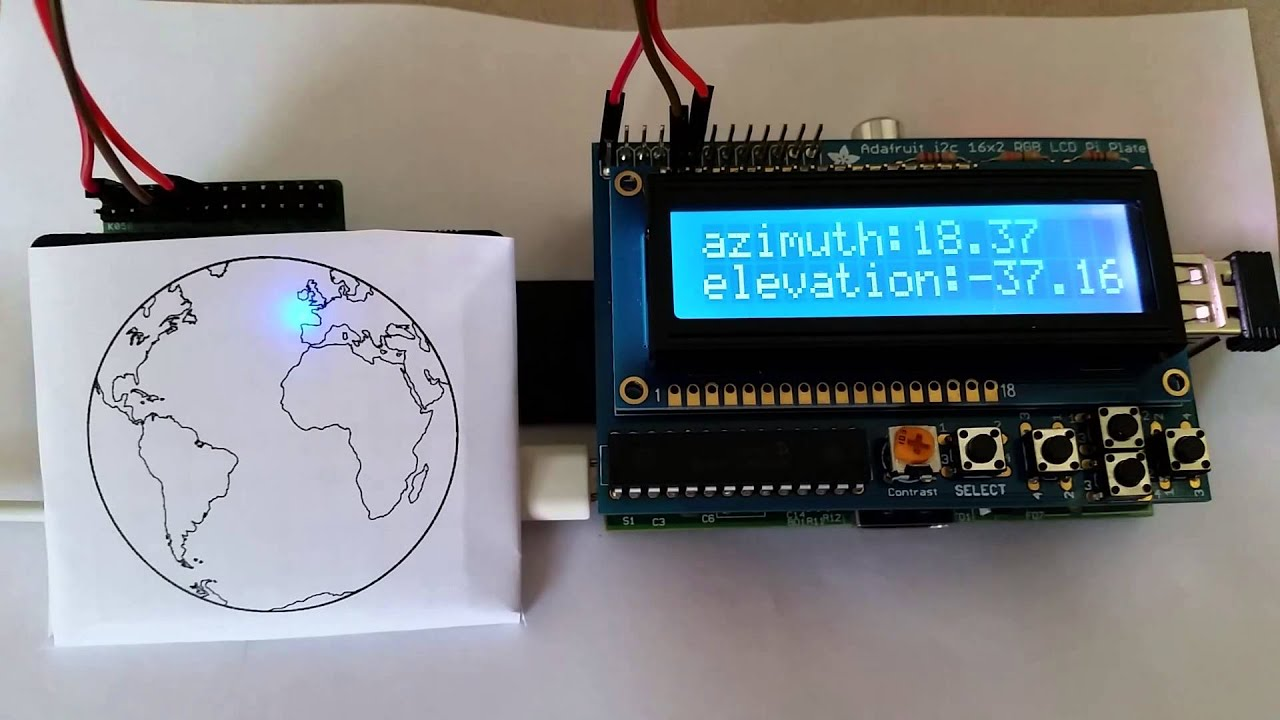 iss tracker with raspberry pi youtube. Black Bedroom Furniture Sets. Home Design Ideas