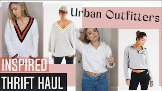 Urban Outfitters Inspired Fall Thrift Haul! (Try- on)