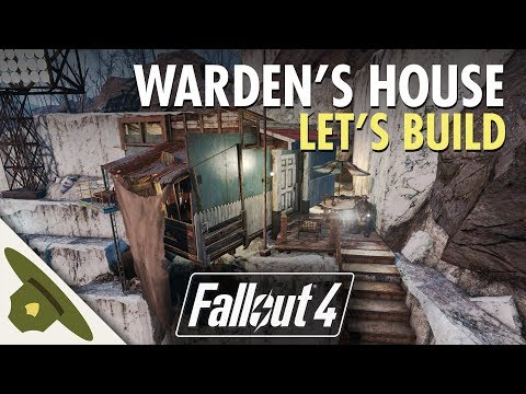 Fallout 4: Thicket Excavations Prison | Warden's manor | Let's Build Part 10 thumbnail