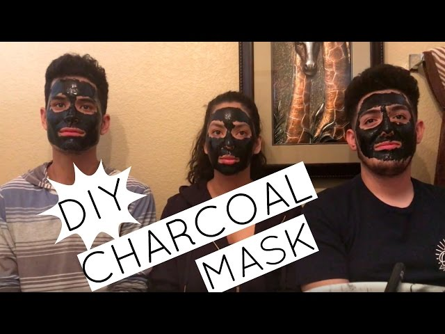 DIY CHARCOAL FACE MASK! (PAINFUL)