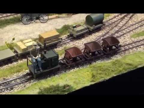 Narrow Gauge Layouts at York Model Railway Exhibition. 2014