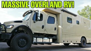 MASSIVE RV: 4x4 Off-Road  Motorhome! Overlander's Dream! The Showhauler!