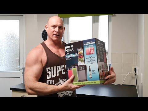 Nutri Ninja,the BEST blender for PROTEIN SHAKES? 1000w with Freshvac,NO MORE FOAM! REAL world test