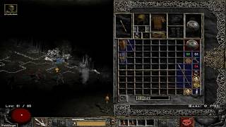 Path of Diablo S7 (Diablo 2 mod) - HC Necromancer 1 walkthrough part 1 ► 1080p 60fps No commentary
