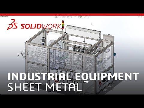 Industrial Equipment - Sheet Metal - SOLIDWORKS