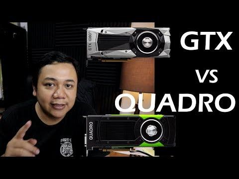 GPU Untuk Rendering Arsitektur  GTX/RTX Atau Quadro?