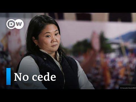 "Keiko Fujimori insiste en que hubo ""irregularidades"""