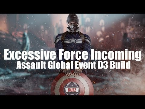 "THE DIVISION | ""Captain America"" D3-FNC Global Event Assault Destroyer"