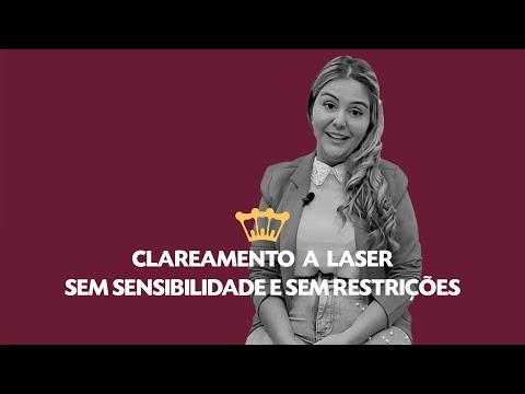 Clareamento a Laser sem sensibilidade e sem restrições alimentares