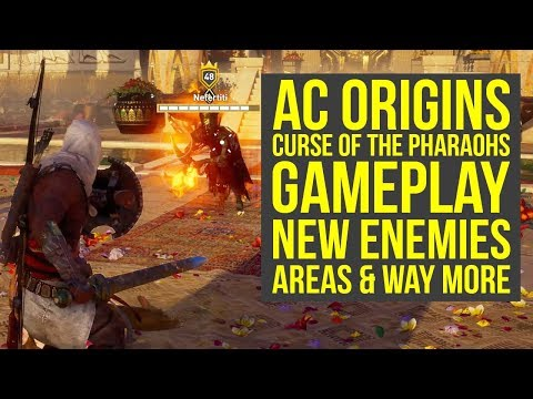 Assassin's Creed Origins Curse of the Pharaohs NEW ENEMIES & More! (AC Origins Curse of the Pharaohs