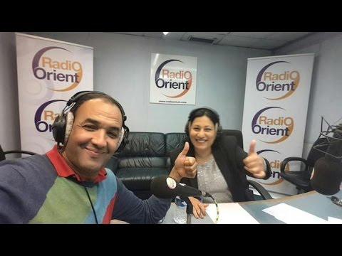 Rachid el ouali sur radio orient 1er juin 2015 رشيد الوالي