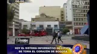 Arriba Bogotá: Sistema Informativo de Citytv se toma el corazón de Bogotá