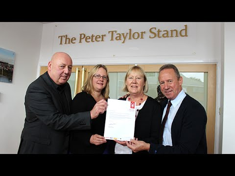 Renaming of The Peter Taylor Stand