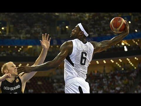 Germany vs USA 2008 Beijing Olympics Basketball Group Round Game HD 720p English