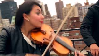 Counting Stars - OneRepublic violin/cello/bass cover Simply Three