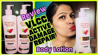*NEW* VLCC Active Damage Repair Body Lotion|| Review + Demo || Takemybeauty ||