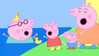 Peppa Pig Full Episodes | The Biggest Muddy Puddle in the World | Kids Videos