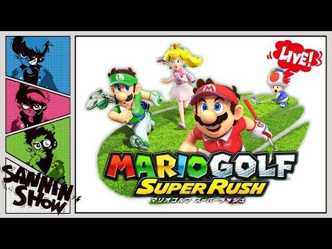 【生放送】相手のゴルフボールを蹴れるらしい【マリオゴルフ スーパーラッシュ】