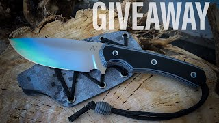 Knifemaking: camp knife (GIVEAWAY)