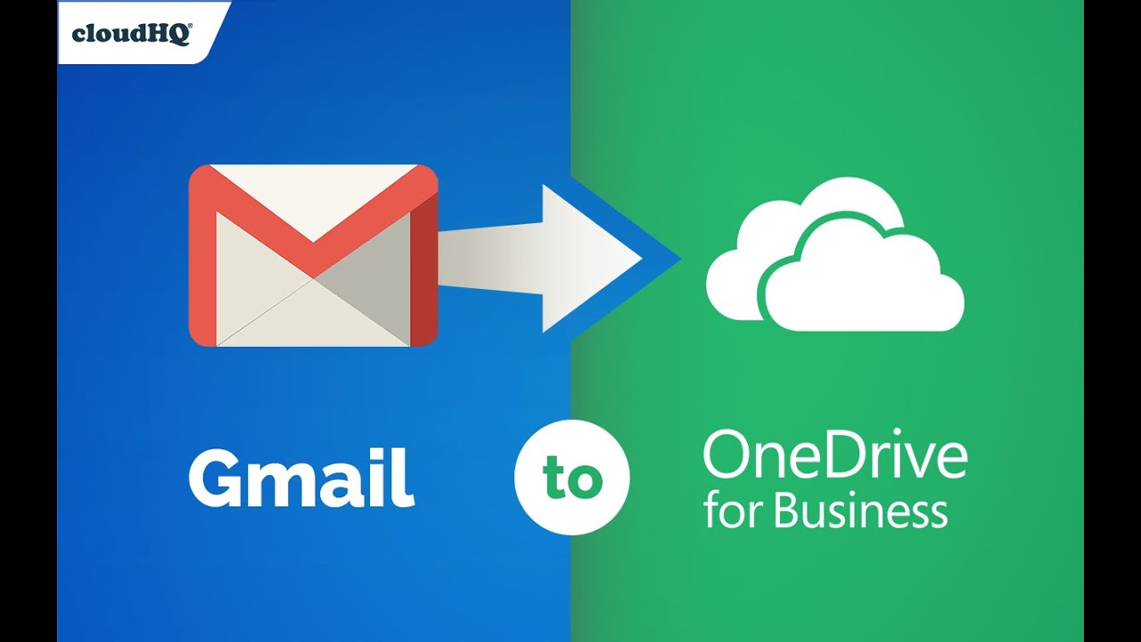FREE! Save your Gmail to OneDrive for Business