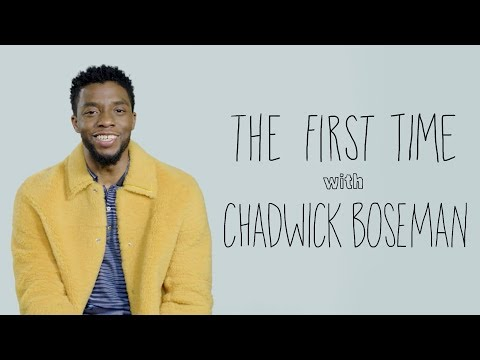 The First Time with Chadwick Boseman   Rolling Stone