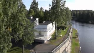 Funkistalo Jyväskylän Naissaaressa