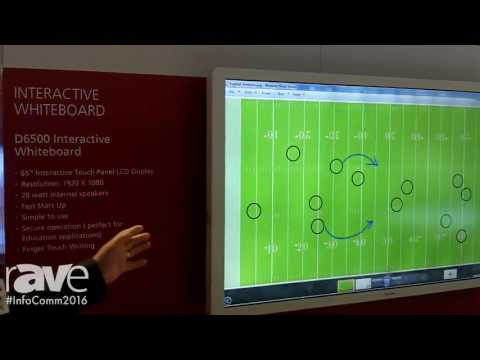 InfoComm 2016: Ricoh Highlights How Its Interactive Touch Panel Displays Make Collaboration Easier