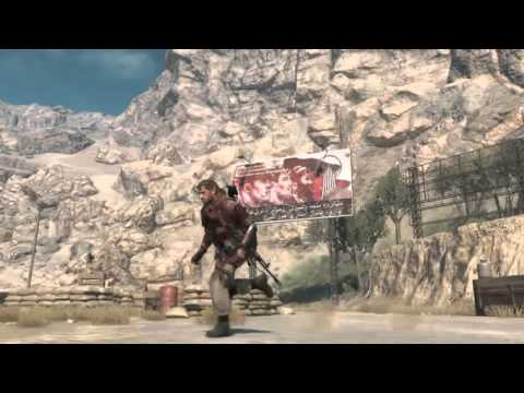 Afghanistan mountain relay station - No HUD Gameplay - METAL GEAR SOLID V PHANTOM PAIN
