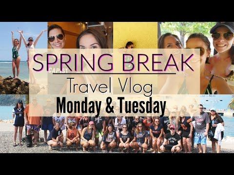 SPRING BREAK TRAVEL VLOG - Boarding the ship, Haiti! (Sunday, Monday, Tuesday)