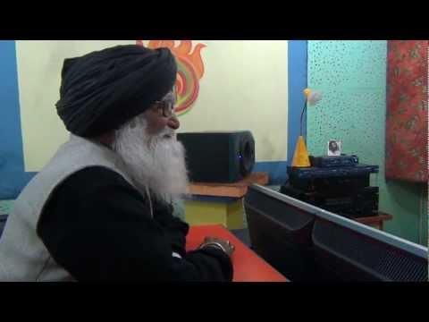 Rasterpati awarded sh Het ram tanwar ji at Bhairvi studio