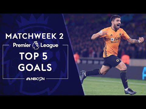 Top 5 goals from Premier League 2019/20 Matchweek 2 | NBC Sports