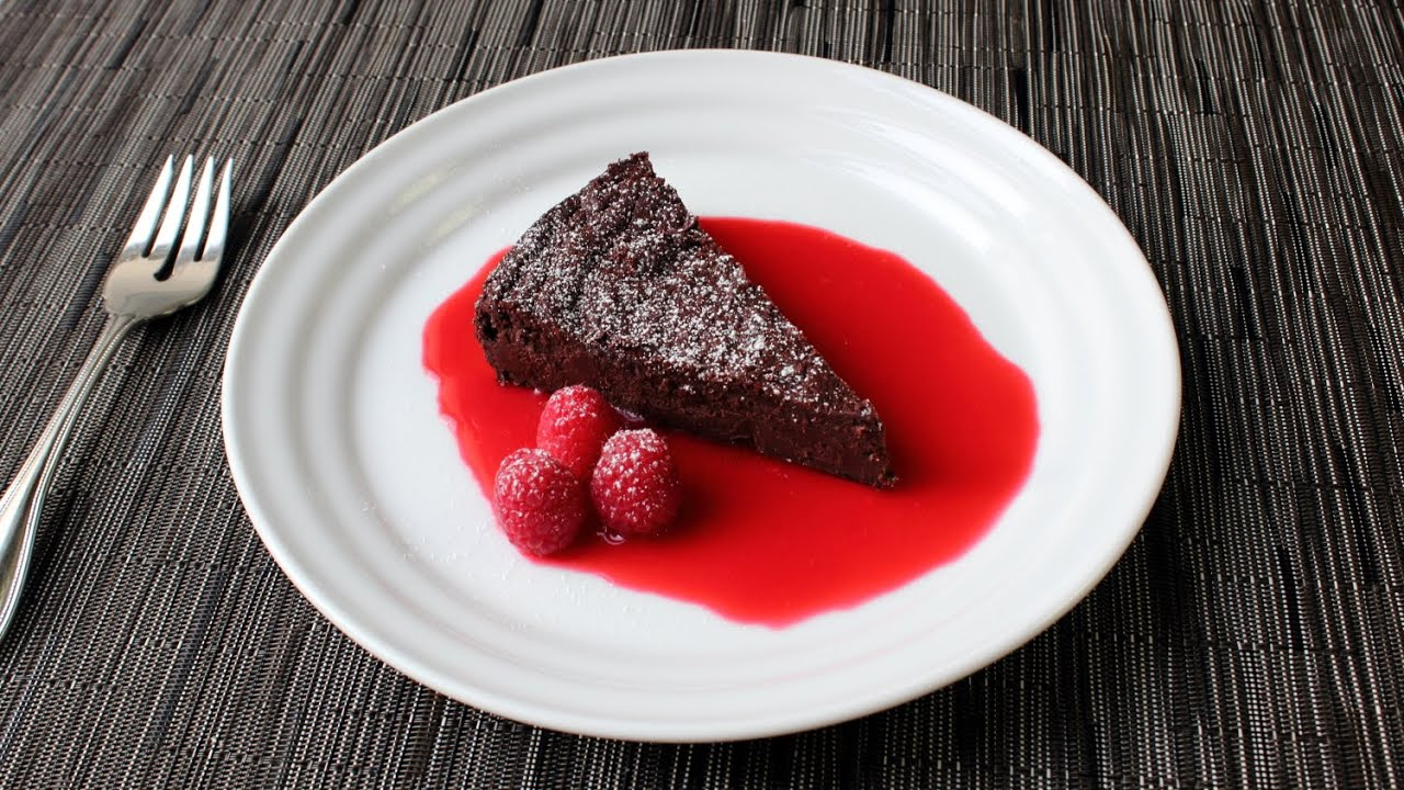 Food Wishes Chocolate Decadence Cake