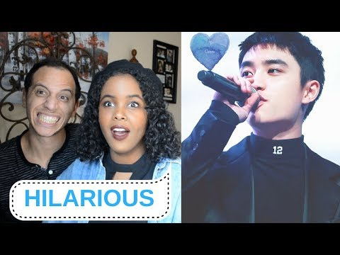EXO - 10 MINUTES OF EXO D.O'S SILLINESS (EXO REACTION)